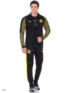 Олимпийка BVB Stadium Jacket PUMA