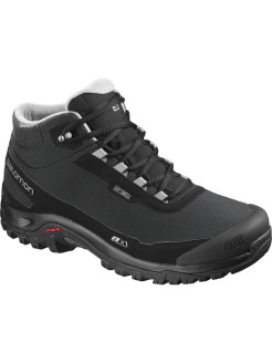 Ботинки SHOES SHELTER CS WP Black/Bk/Frost Gray SALOMON