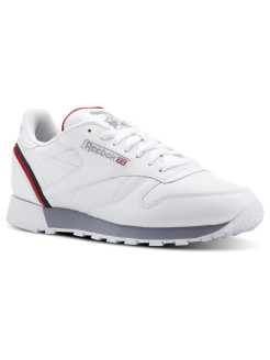 Кроссовки CL LEATHER MU WHITE/NAVY/RED/SHADO Reebok