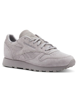 Кроссовки CL LTHR WHISPER GREY Reebok