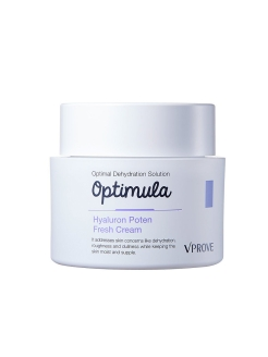 Освежающий крем для лица Optimula Hyaluron Poten Fresh Cream VPROVE