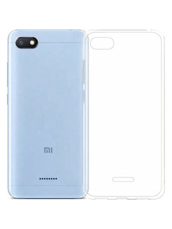 Чехол для Xiaomi Redmi 6A . Накладка ClearView для сяоми, ксиоми Redmi 6A GOSSO CASES