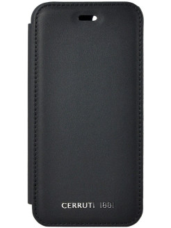 Чехол Cerruti для iPhone 7/8 Genuine Leather Booktype Black CERRUTI 1881