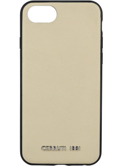 Чехол Cerruti для iPhone 7/8 Genuine Leather Hard Beige CERRUTI 1881