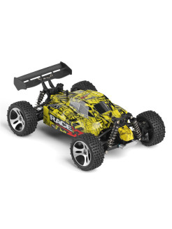 Автомобиль р/у 1:18 4WD Wltoys high speed car 18401, желтый Wltoys