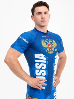 Рашгард National Team Blue Strein