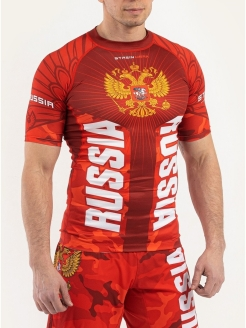 Рашгард National Team Red Strein