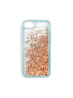 Чехол glitter bomb iPhone case 7, speckle (ice blue) ban.do