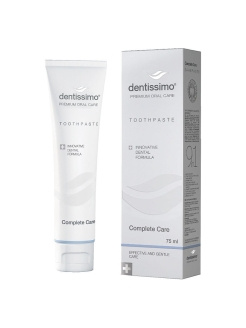 Зубная паста COMPLETE CARE PLUS TOOTHPASTE 75 ml Dentissimo