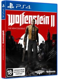 Wolfenstein II: The New Colossus [PS4, русская версия] Bethesda Softworks