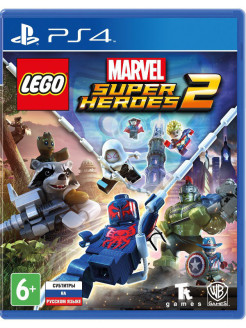Lego Marvel Super Heroes 2 [PS4, русские субтитры] WB Interactive