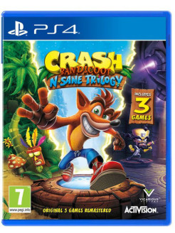 Crash Bandicoot Nsane Trilogy (PS4, английская версия) Activision