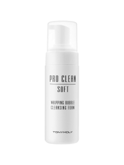 Кислородная пенка для лица PRO CLEAN SOFT WHIPPING BUBBLE, 150мл Tony Moly