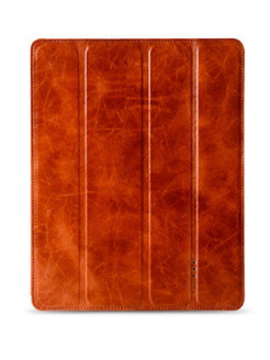 Кожаный чехол Melkco для Apple iPad 3 / iPad 4 / iPad 2 - Slimme Cover Type Trad. Vintage Brown Melkco