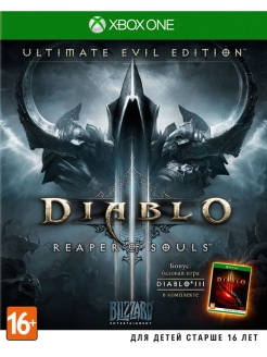 Diablo III: Reaper of Souls. Ultimate Evil Edition [Xbox One, русская версия] Blizzard