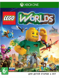 Lego Worlds [Xbox One, русская версия] WB Interactive