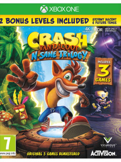 Crash Bandicoot Nsane Trilogy [Xbox One, английская версия] Activision