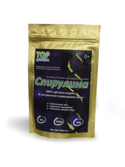 Спирулина,порошок,100гр TOP Spirulina