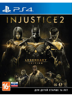 Injustice 2. Legendary Edition [PS4, русские субтитры] WB Interactive