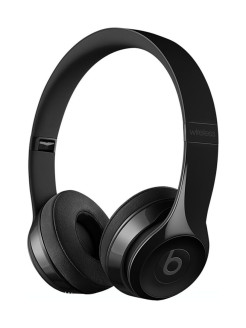 Наушники Solo3 Wireless On-Ear Headphones - Gloss Black Beats