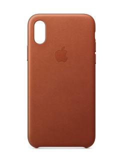 Чехол iPhone XS Leather Case Apple