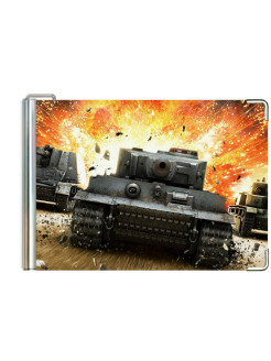 "Money clip ""World of tanks"" Modaprint"