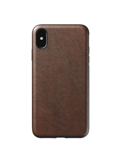 Чехол Rugged Leather для iPhone XS Max Nomad