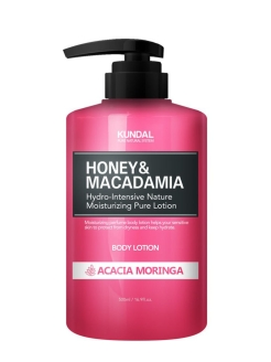 "Лосьон для тела ""Honey & Makadamia Pure Body Lotion"" ACACIA MORINGA, 500 мл Kundal"