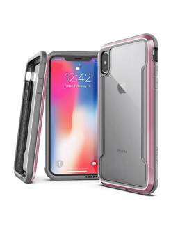 X-Doria Defense Shield case shockproof case for iPhone Xs Max Rose Gold x-doria