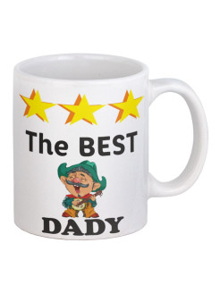 Кружка The best dady. Серия для Папы. BigArmy