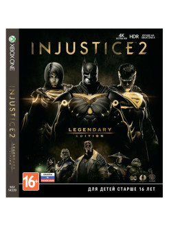 Injustice 2. Legendary Edition [Xbox One, русские субтитры] WB Interactive