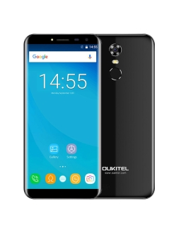 Смартфон C8: 5,5'' 1280x640/IPS MT6580 2Gb/16Gb 13Mp/5Mp 3000mAh Oukitel