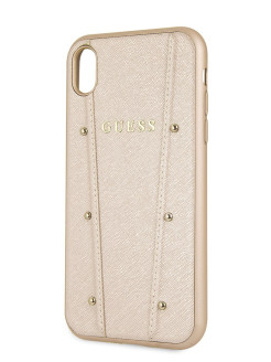 Чехол Guess для iPhone XR KAIA collection Hard Gold GUESS