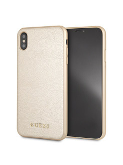 Чехол Guess для iPhone XS Max Iridescent Hard Gold GUESS