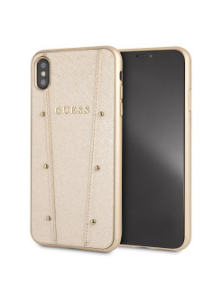 Чехол Guess для iPhone XS Max KAIA collection Hard Gold GUESS