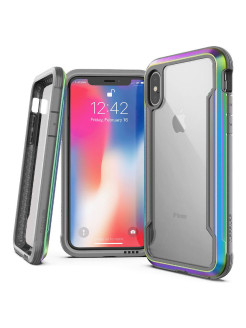 Cover Shockproof Defense Shield for iPhone X / Xs Iridescent x-doria
