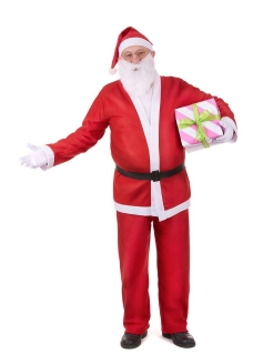 Santa Claus Costume Adult MARKETHOT