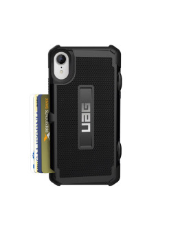 UAG Protective Case for iPhone XR Series Trooper color black UAG