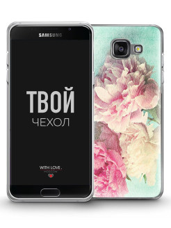 Чехол для Samsung Galaxy A5 (2016) A510 With Love. Moscow