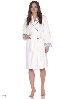 Dressing gown female Ekin Ecocotton