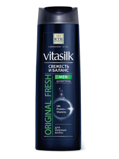 Шампунь Vitasilk MEN Original Fresh, 400мл RTH