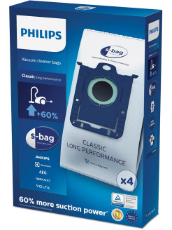 Vacuum cleaner bag, 4 things., FC8021 / 03 Philips