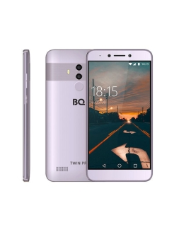 Смартфон 5517L TWIN PRO: 5,5'' 1920x1080/IPS MT6750 4Gb/32Gb 13+2Mp/8Mp 3080mAh BQ.