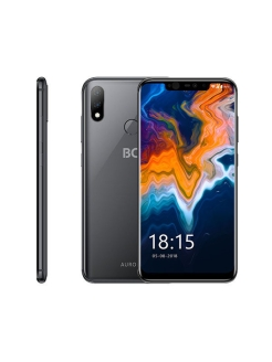 Смартфон 6200L AURORA: 6,2'' 2246x1080/IPS Helio P60 4Gb/64Gb 16+5Mp/16 3000mAh BQ.