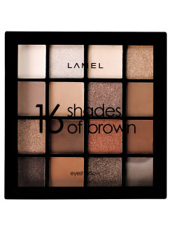 Тени для век Shades of Brown 16-1 Lamel