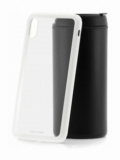 Чехол-накладка Apple iPhone XS Max Baseus See-through Glass White BASEUS