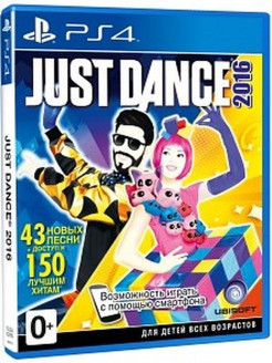 Just Dance 2016. Unlimited [PS4, русская документация] Ubisoft