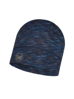 Шапка Buff LIGHTWEIGHT MERINO WOOL HAT DENIM MULTI STRIPES Buff