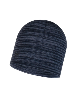 Шапка Buff MIDWEIGHT MERINO WOOL HAT DENIM MULTI STRIPES Buff
