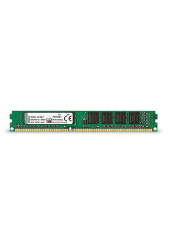 Модуль памяти DDR3 DIMM 4Гб 1333MHz Non-ECC 1Rx8 CL9 Kingston